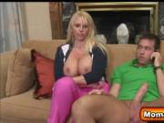 Chad's balls deep into Mrs. Fisher's pussy