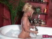 Aaliyah Love masturbating