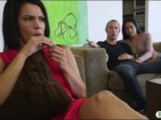 Hot stepsis Maya Bijou swallows cumload after getting f