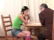 Doggystyle humping with tutor