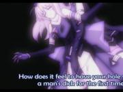 Hentai girl gets caught by shemale