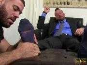 Tube gay sex boys feet Hugh Hunter Worshiped Until He C