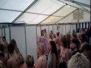 Spying on women's showers at rock fest