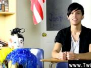 Twink video Poor Jae Landen says he's never had a fine