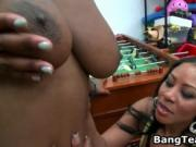 Big assed black girl fucking ans sucking 2 by BangTeamF