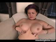 Busty babe playing with her cunt by RealBangBook
