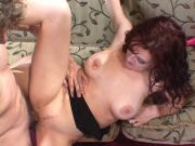 Busty Brunette Housewife Banged