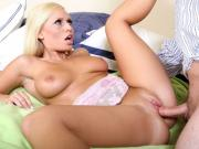 Hardcore Busty Loves Toys And Cocks