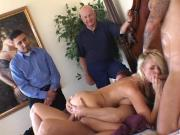 Horny Wife Threesome Knobbing
