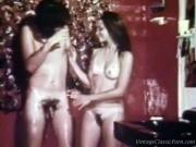 Vintage soapy sex