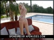 Dannielle Maye Masturbating in the Sun by APDNUDES.COM