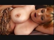 Busty old lady loves young cum