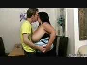 Cheating fat wife rides his cock