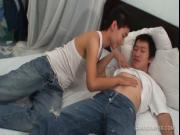 Asian Twinks Tae and Bas Piss and Fuck