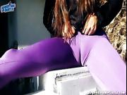 The BEST ASS and CAMELTOE in Ultra-Tight Pants In Public!
