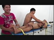 Gay Asian Twink Willy Gets Tickled