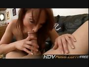 Redhead Rimming And Sucking Phat Cock POV