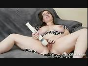 Busty Patience Masturbating Her Hairy Twat