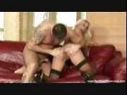 Blonde MILF Enjoys Intense Anal