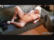 German Teen Likes Old Cock