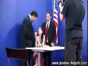 Pornstar Joanna Angel in threesome