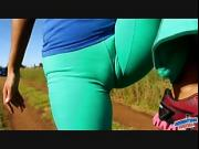 Winona Cameltoe Queen - Stripping and Fingered! Superb Ass