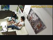 Japanese MILF seduced by young horny guy