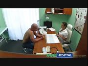 Hot nurse prescribes fucking for muscle enhancement
