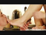 I love worshiping big cocks with my little feet JOI