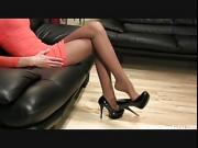 Anique amazing high heels dangling