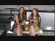 Bar owner fucks two horny girls