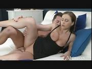 Naughty milf takes cock in plump pussy