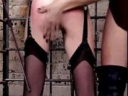 Hollis Ireland dominates Miss Crash in her dungeon