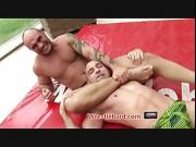 Rough Wrestlehard gay wrestling punishment fuck