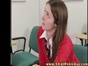 Dom schoolgirl tugs hoping it will get bigger than it is