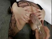 Euro slut loves anal from toys or a hard dick