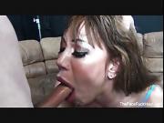 Ava Sucks Cock