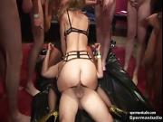 Cum in mouth and creampies