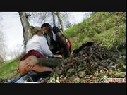 Anna Polina and Nasta Zya hard fuck with the gardener