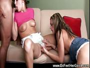 Cheyennee Cooper blows doctor with her girlriend Gracia Glam eating her
