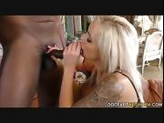 Interracial Foot Fetish Porn with Nina Elle
