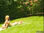 Superb Outdoors Lesbian Action