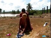 Awesome outdoors sex with fantastic blonde