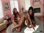 Awesome And Horny Lesbian Thressome