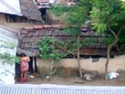 Poor Village Girl Has no Bathroom