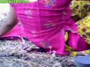 Indian amateur couple sex in public place