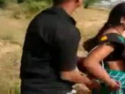 Desi Couple Quick Sex on Motorcycle
