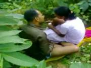 Desi Couple Sex in Woods