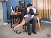 Heather's Inheritance Spanking
