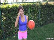 Hottie Latina Sofia Rivera sexy basketball sex scene